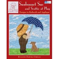 Sunbonnet Sue and Scottie at Play - Designs in Redwork and Applique