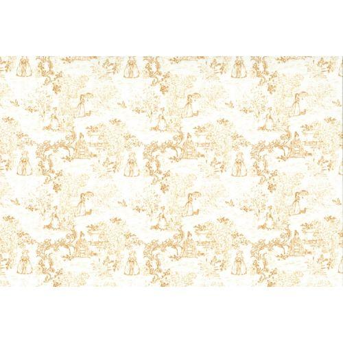 Lecien Madame Fleur by Jera Brandvig, tessuto bianco panna toile de jouy