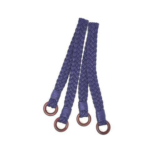 Manici Lunghi per borse in Corda Blu - 61 cm, 2 Manici