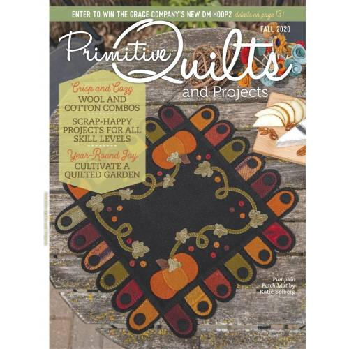 Rivista Primitive Quilts & Projects - Autunno 2020