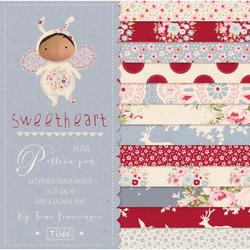 """Tilda Mini Pattern Pad """"Sweetheart"""" 24 fogli doppi"""