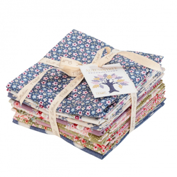 "Tilda Fat Quarter Bundle ""Autumntree"" 9 pz"
