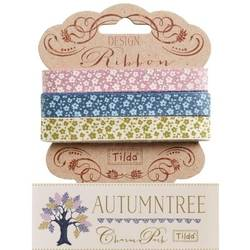 "Tilda ribbon set 10 mm ""Autumntree"" 3pz"