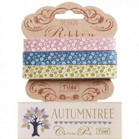 Tilda ribbon set 10 mm Autumntree 3pz