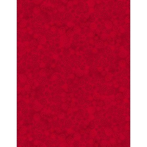 Wilmington Prints Essentials, Tessuto Rosso con Scintille