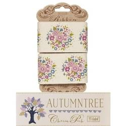 "Tilda ribbon 45 mm Thula Lilac ""Autumntree"""