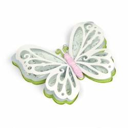 Thinlits Die Set 3PK Large Delicate Butterfly by David Tutera