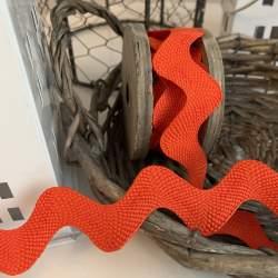 Rick Rack Colore Arancione Altezza 38 mm