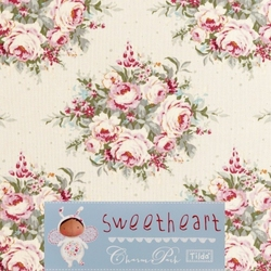 Tilda 110 Floribunda DoveWhite Sweetheart