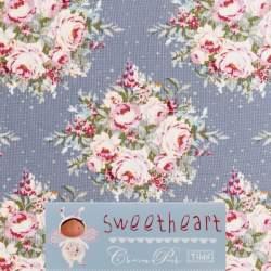 Tilda 110 Floribunda SlateBlue Sweetheart