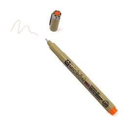 Pigma Micron 005 Arancione - Pennarello Indelebile a punta sottilissima, 0.2 mm