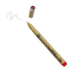 Pigma Micron 005 Rosso - Pennarello Indelebile a punta sottilissima, 0.2 mm