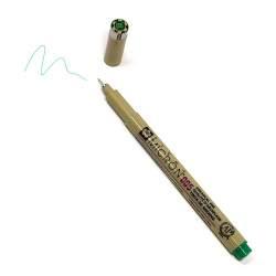 Pigma Micron 005 Verde - Pennarello Indelebile a punta sottilissima, 0.2 mm