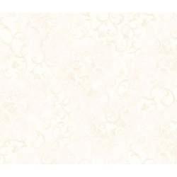 Wilmington Prints, Tessuto Fondo Bianco con Rami Beige