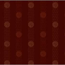 Henry Glass Itty Bitty By Janet Rae Nesbitt, Tessuto Fondo Rosso con Bolle