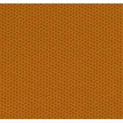 Moda Fabrics Floral Gatherings, Tessuto Fondo Arancione con Fiori