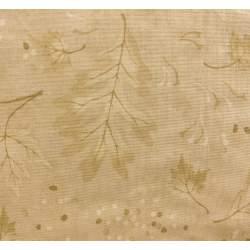 Moda Fabrics Trail's End by Holly Taylor, Tessuto Beige con Foglie