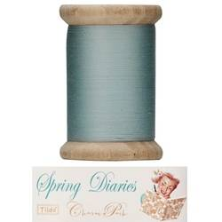 "Tilda sewing thread 400 mt green ""Spring Diaries"""