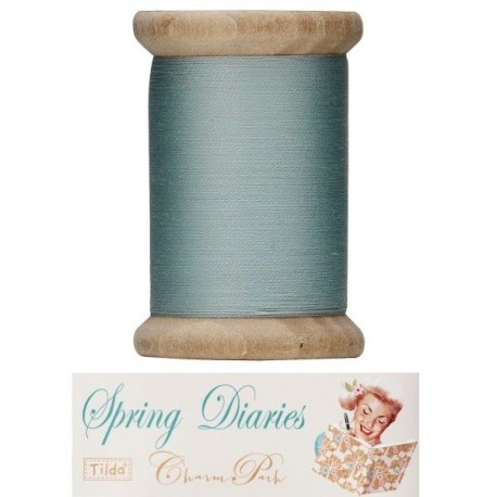 Tilda sewing thread 400 mt green Spring Diaries