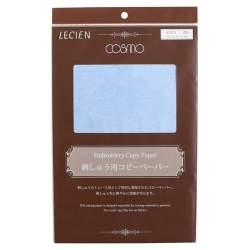 Cosmo Lecien, 3 Fogli di Carta Carbone per Ricamo, 26 x 35 cm