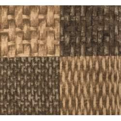 D's Selection Taupe-ism by Junko Matsuda, Tessuto Marrone Effetto Cestino Intrecciato