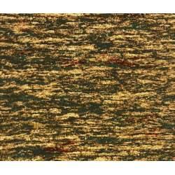 South Sea Import Bear Meadow by Carolyn Mock, Tessuto Verde Marrone