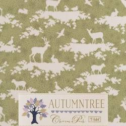 "Tilda 110 Forest Green ""Autumntree"""