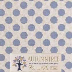 Tilda 110 Sewn Spot Dove White Autumntree