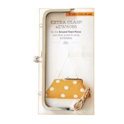 Around Town Extra Clasp, Chiusura Metallo Argento 24 cm
