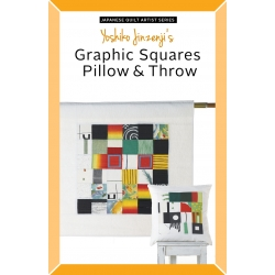 Yoshiko Jinzenji's Graphic Squares Pillow & Throw