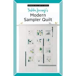 Yoshiko Jinzenji's Modern Sampler Quilt