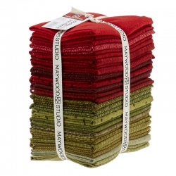 Maywood Studio Woolies Flannel Holiday Warmth, 20 Fat Quarter di Natale 45 x 55 cm di Flanella