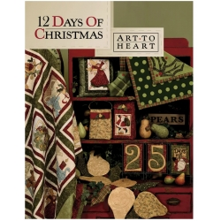 Art to Heart, 12 Day of Christmas by Nancy Halvorsen