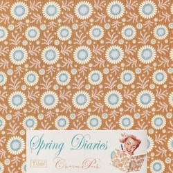 Tilda 110 Sunflower Honey Yellow Spring Diaries