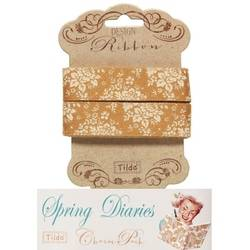 Tilda ribbon 20 mm Audrey Yellow Spring Diaries