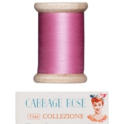 Tilda sewing thread 400 mt pink Cabbage Rose