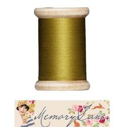 Tilda sewing thread 400 mt olive Memory Lane
