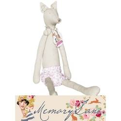 "Tilda Friends Fox, 50 cm precucito ""Memory Lane"""