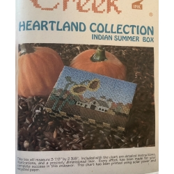Heartland Collection - Indian Summer Box, Schema Punto Croce