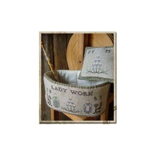 A Lady Basket, Schema Punto Croce