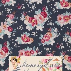 """Tilda 110 Flowercloud Dark Slate """"Memory Lane"""""""