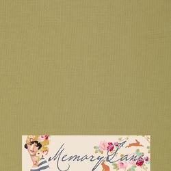 "Tilda 110 Solid Fabric Olive ""Memory Lane"""