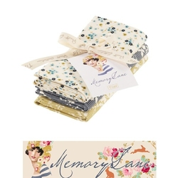 "Tilda Fat Quarter Bundle ""Memory Lane"" extras 3 pz"