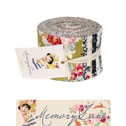 "Tilda Fabric Roll 24 pz ""Memory Lane"""