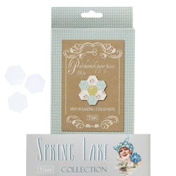 Tilda Paper Piecing - Esagoni, Spring Lake