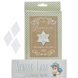 Tilda Paper Piecing - Diamanti, Spring Lake