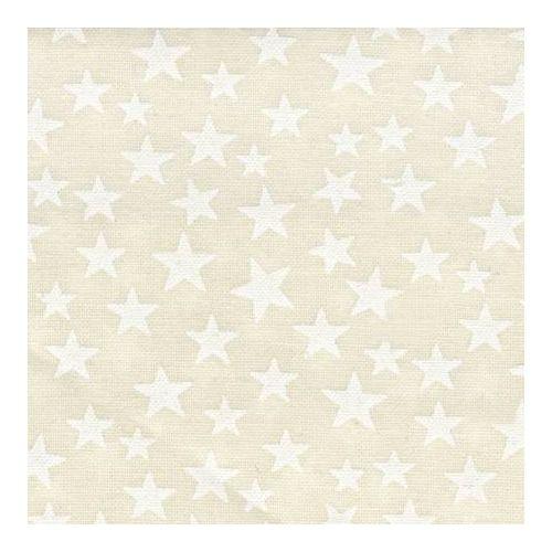 Basic Palette, Tessuto Panna con Stelle