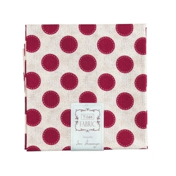 "Tilda Fat Quarter ""Sweethart"" Sewn SPOT Carmine Red"
