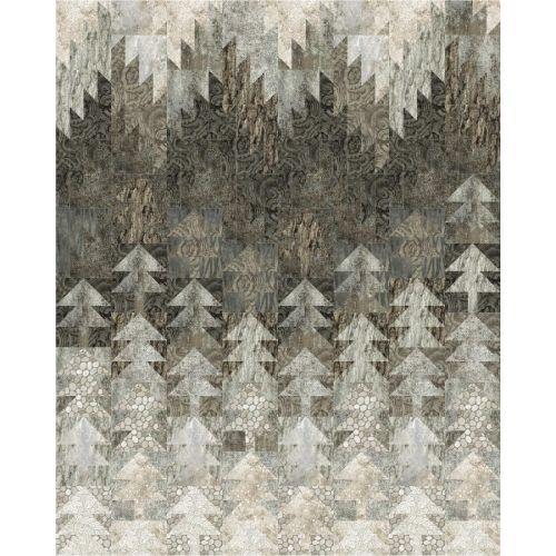 Winter Solstice by Patti Carey - Cartamodello Quilt Solstizio d'Inverno