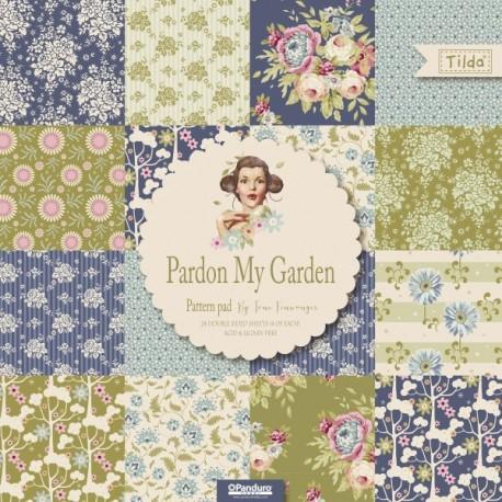 Tilda Pattern Pad Pardon my Garden 24 fogli doppi